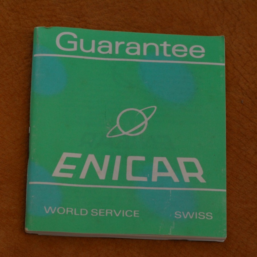 Enicar Box & Papers
