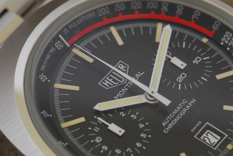 Heuer Montreal 110.503 NOS Chronograph