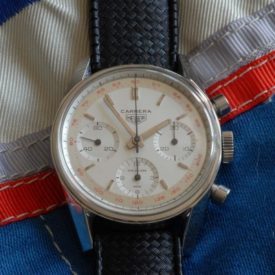 Heuer Carrera 2447T First Execution