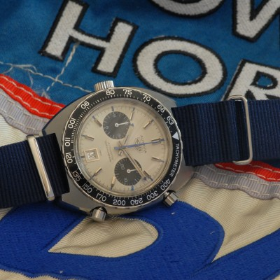 Heuer Autavia 1163T Mark 5 Siffert Chronograph