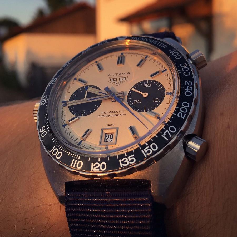 Heuer Autavia 1163T Mark 5 Siffert Chronograph