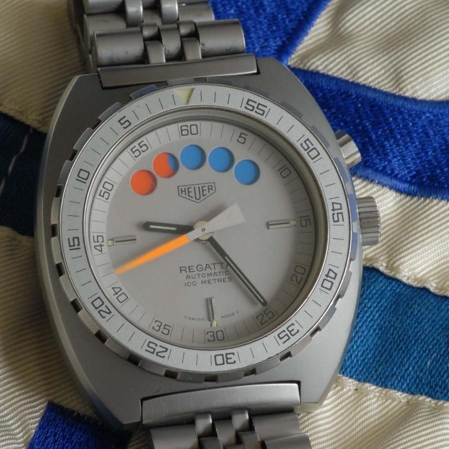 Heuer Regatta 134.603 Grey PVD