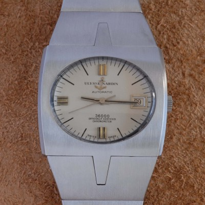 Ulysse Nardin 36000 Chronometer A.7650 Chronograph