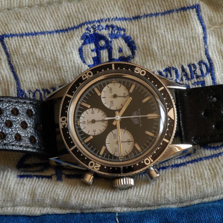Heuer Autavia 2446M Jochen Rindt 3rd Execution