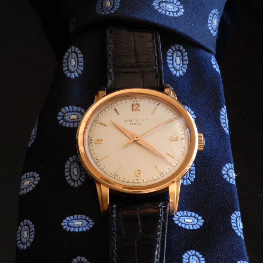 Patek Philippe Calatrava 2481 Sweep Second Rosegold