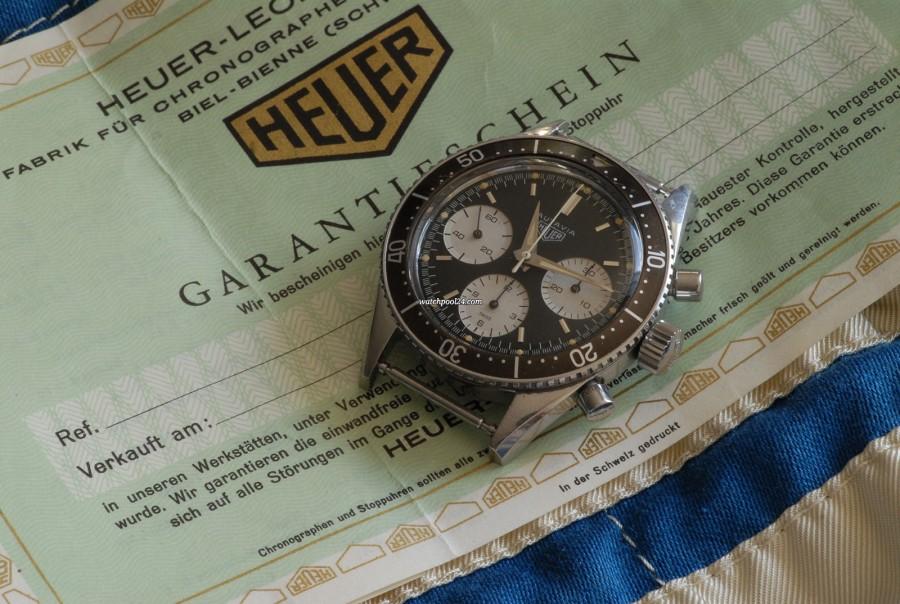 Heuer Autavia 2446M First Series  / 2nd Execution