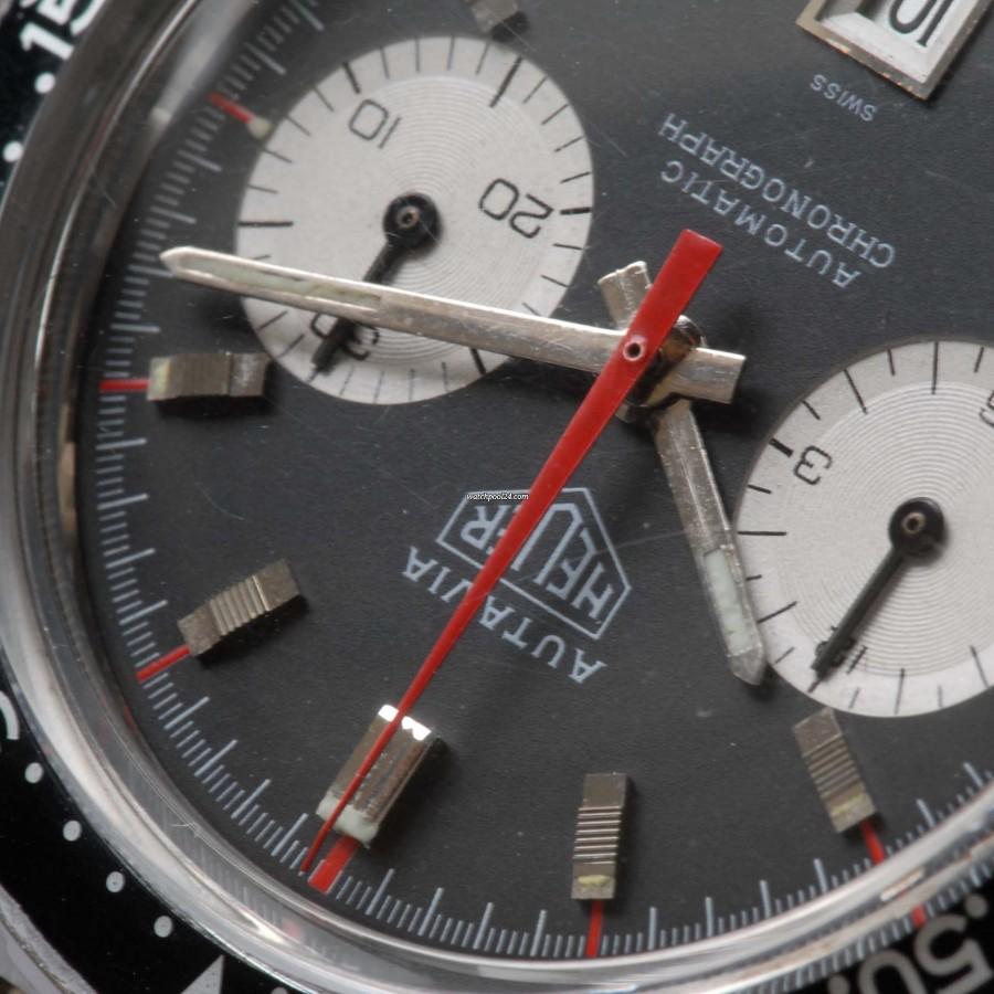 Heuer Autavia 1163 MH Ridged Markers MK 2