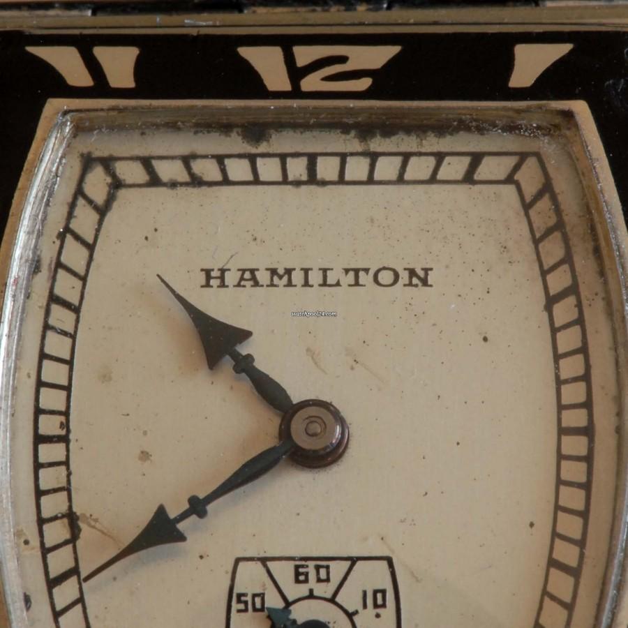 Hamilton Coronado Art Deco