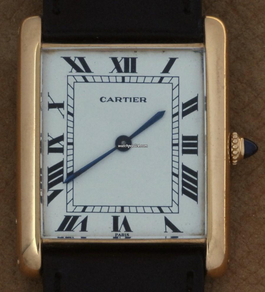 Cartier Tank Jumbo