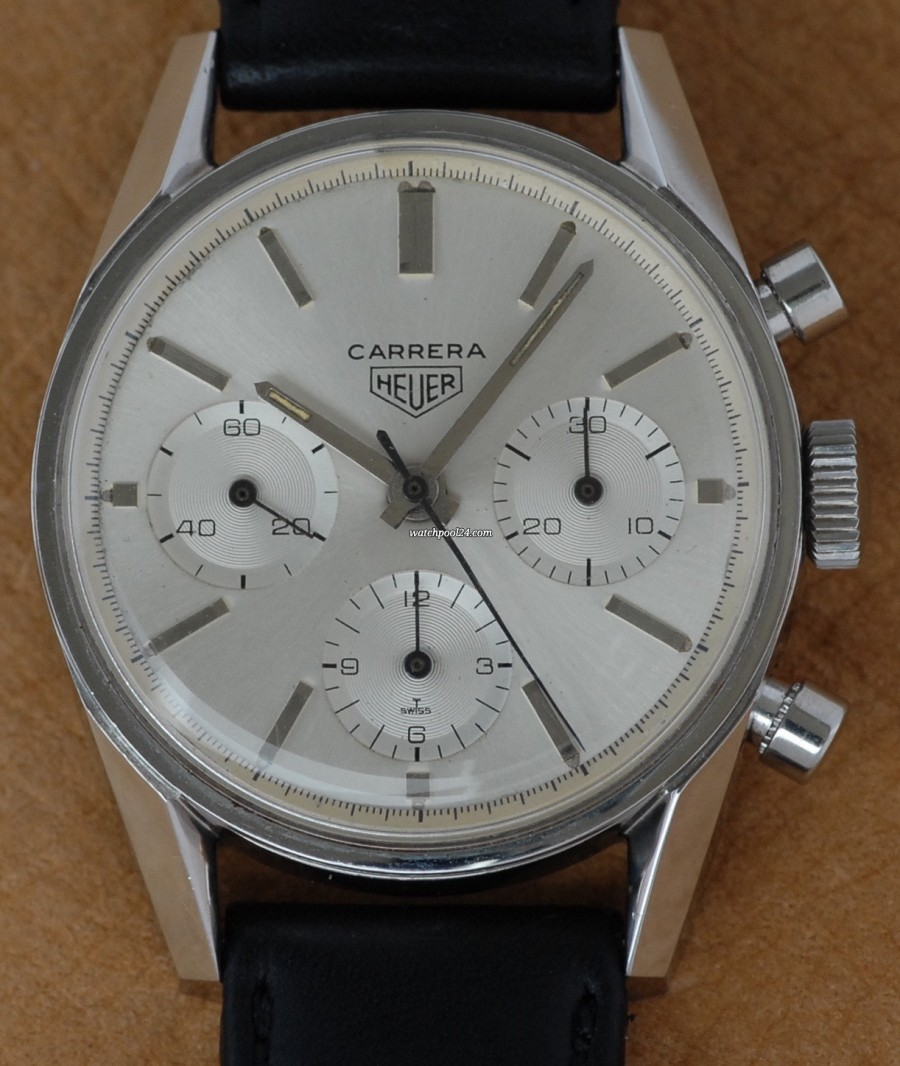 Heuer Carrera 2447 Hex Back