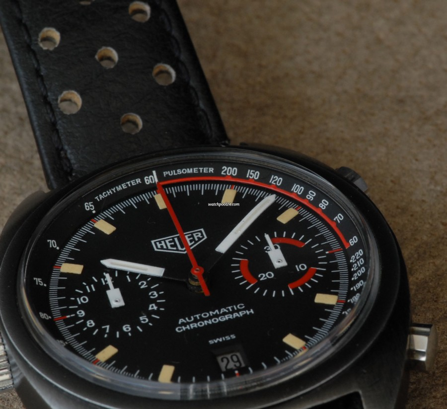 Heuer Monza 150.511 Late Version