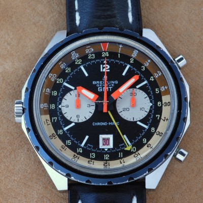 Breitling Chronomatic GMT 2115