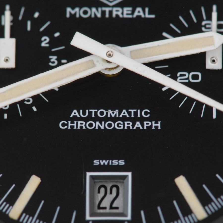"Heuer Montreal 110.503N Chronograph ""Stefan Bellof"""