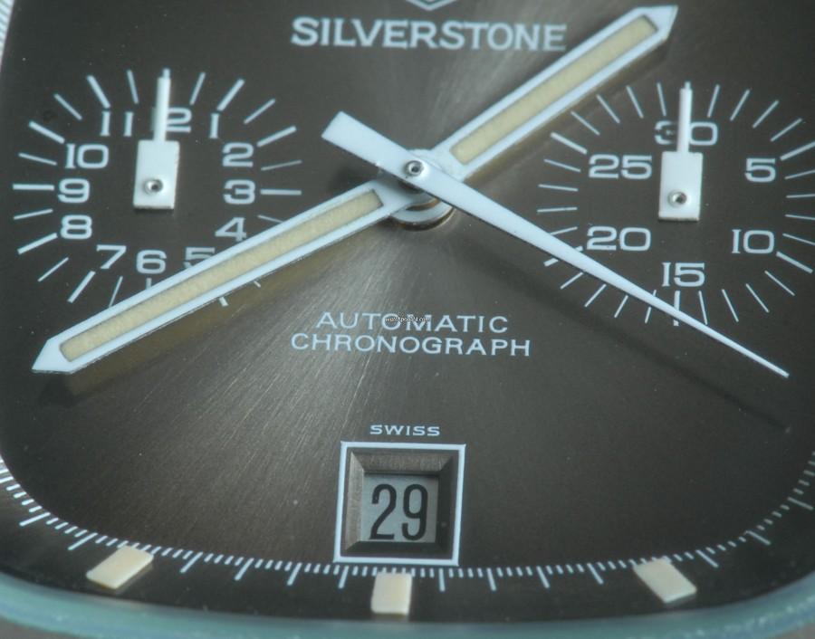 Heuer Silverstone 110.313 Fume