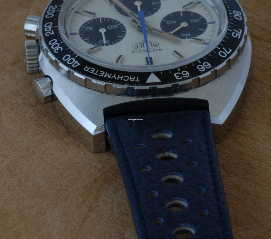 Heuer Autavia 73663 Siffert Colors