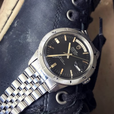 Tudor Oyster Prince 7020/0 Date Day Jumbo