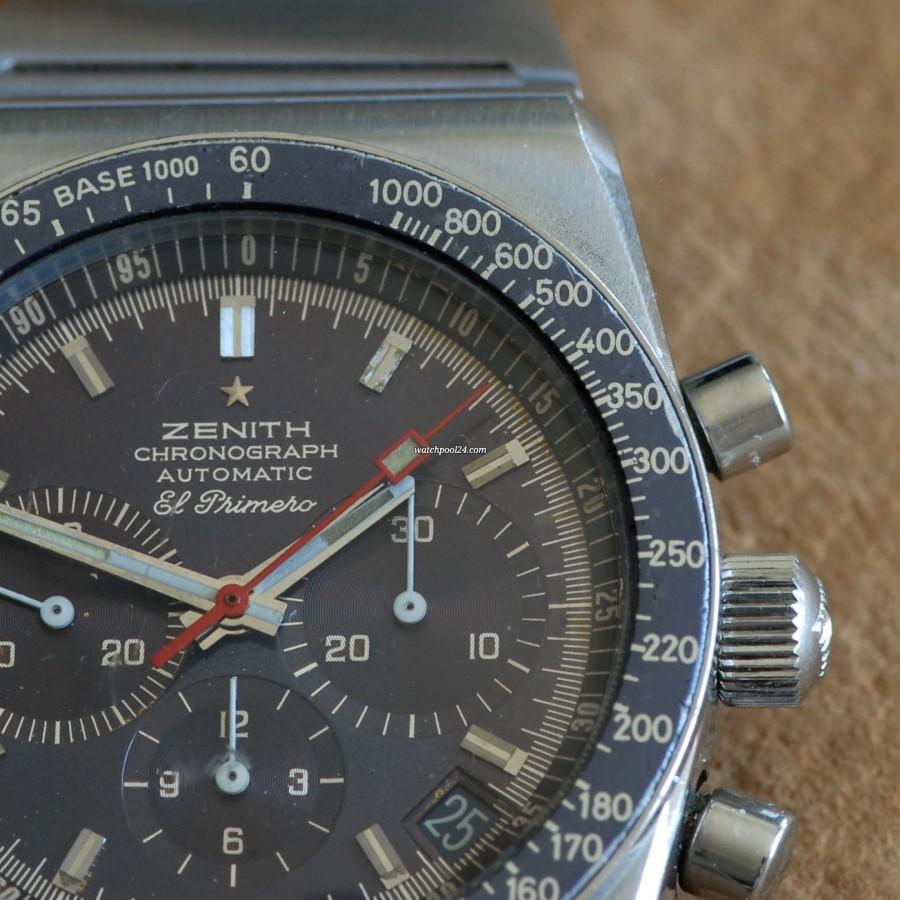 Zenith El Primero 01.0140.415 Blue Tachy