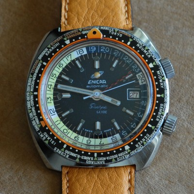 Enicar Sherpa Guide 600 166-35-04 GMT