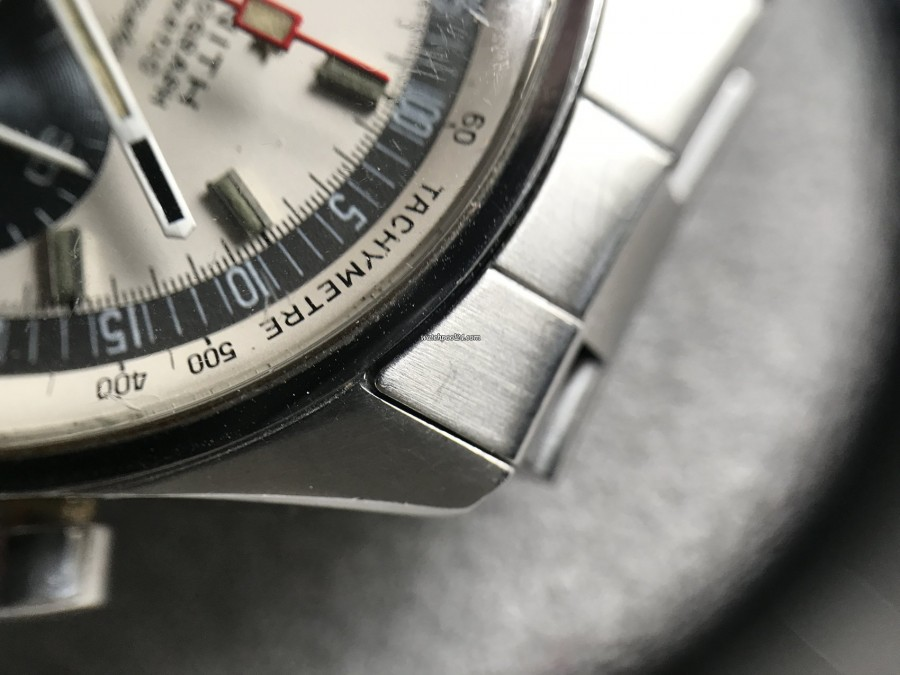 Zenith El Primero A386 - case has a groove at the edge (MK3)