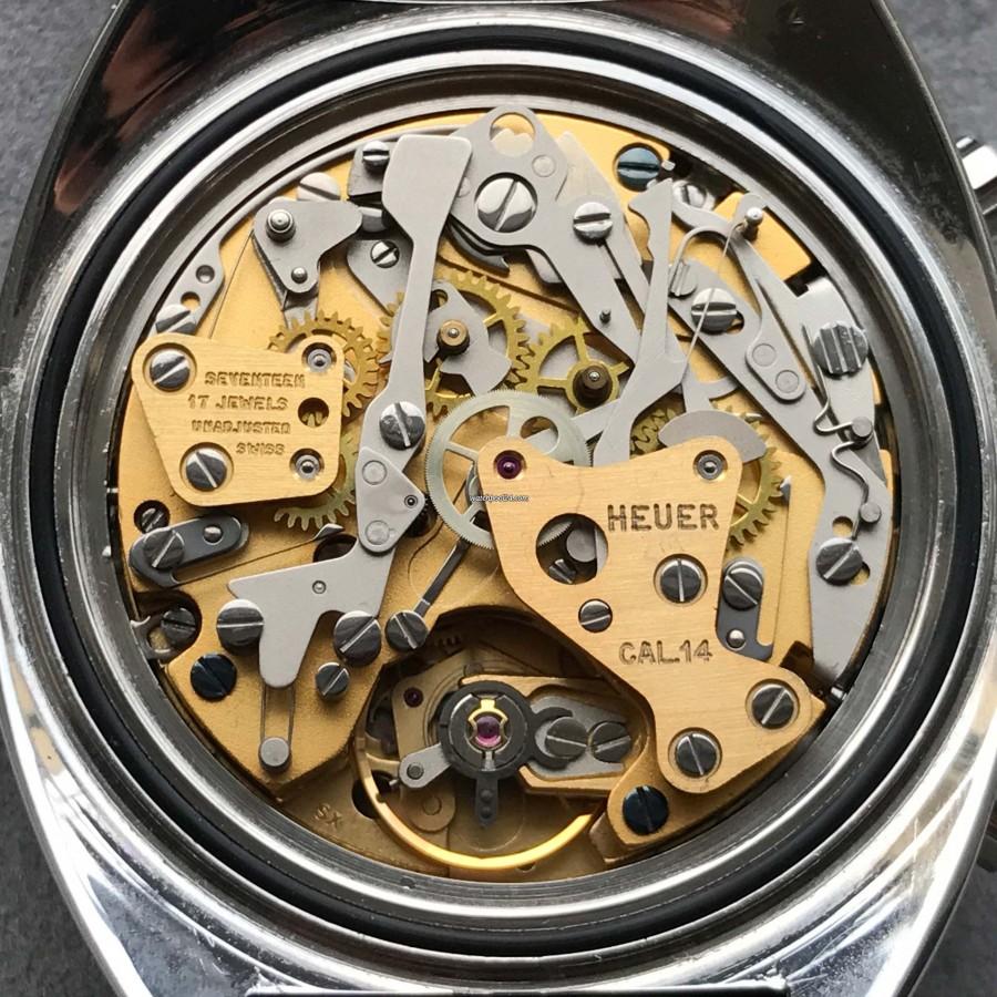 Heuer Autavia 1163 GMT - Heuer GMT Caliber 14