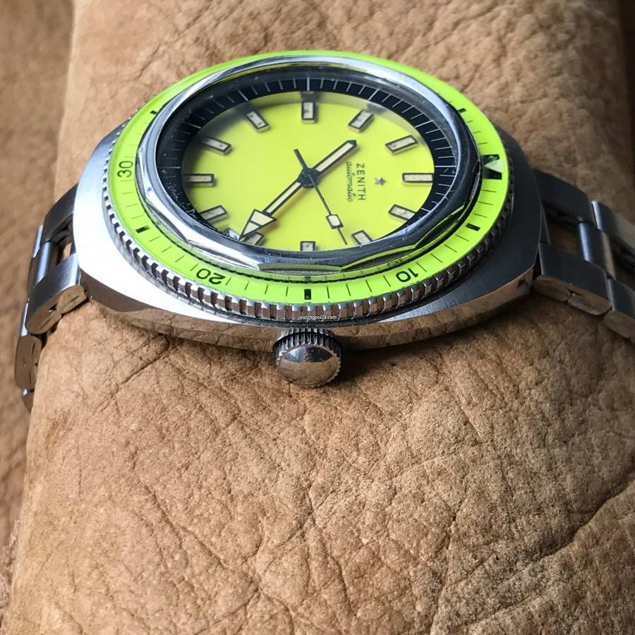 Zenith Diver 1000M A3637 Big Lemon