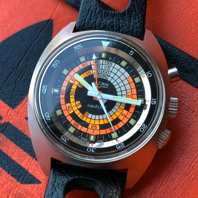 Vulcain Cricket-Nautical S 2322 B Diver