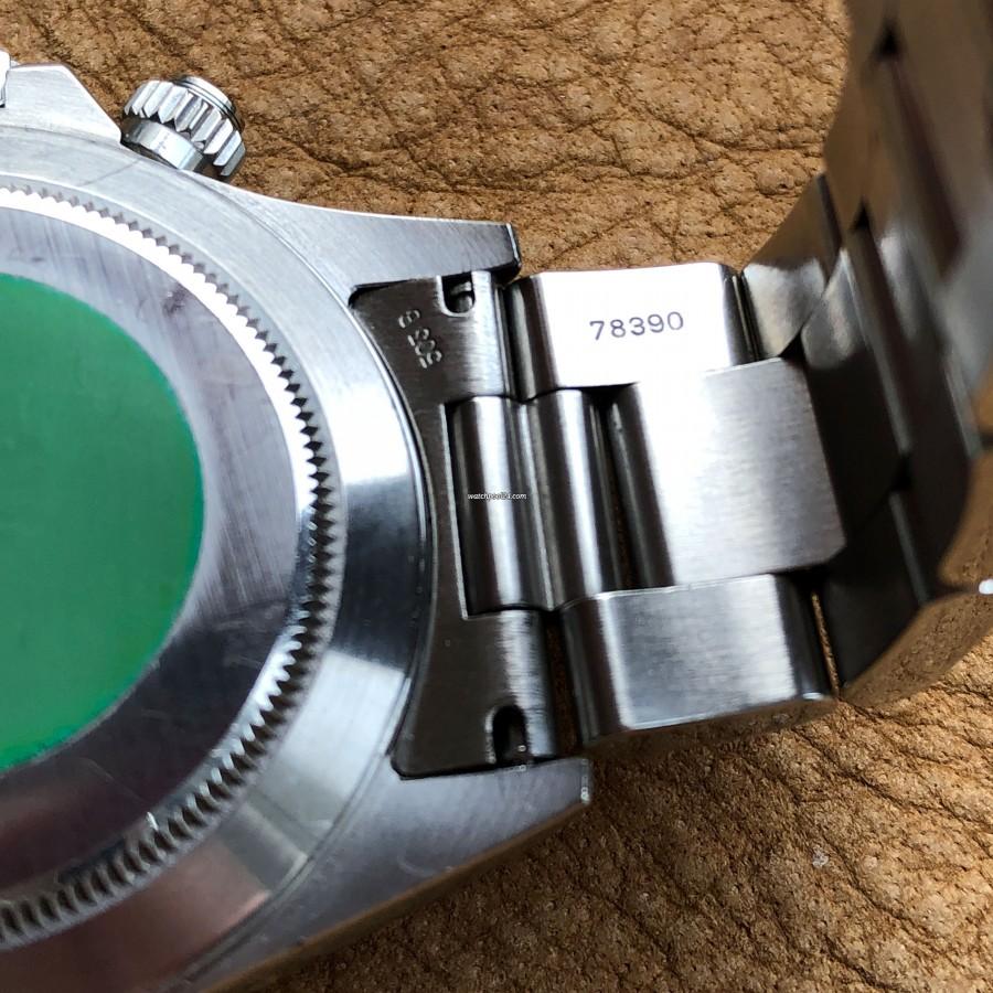 Rolex Daytona 16520 - Zenith Daytona - original Rolex Oyster Bracelet Ref. 78390