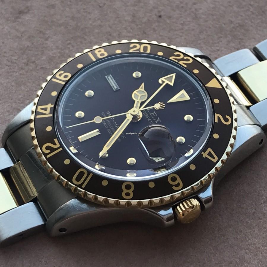 Rolex GMT Master 1675/3 Nipple Dial - EDEL - SPORTLICH - COOL