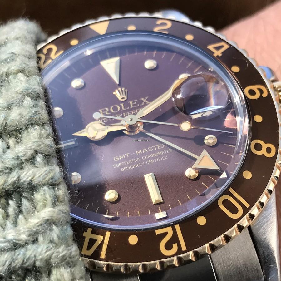 Rolex GMT Master 1675/3 Nipple Dial - wunderschöne Trageuhr für jeden Tag