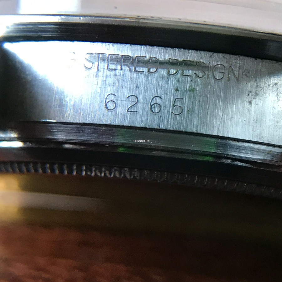 Rolex Daytona 6265 - clearly visible reference number