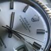 """Rolex Datejust 1601 - Wide Boy - """"White Boy"""" - wider markers"""