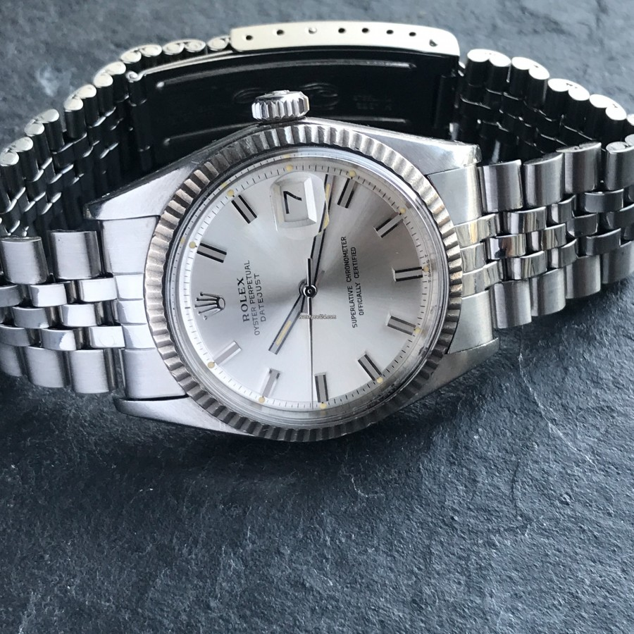 Rolex Datejust 1601 - Wide Boy - visually compelling