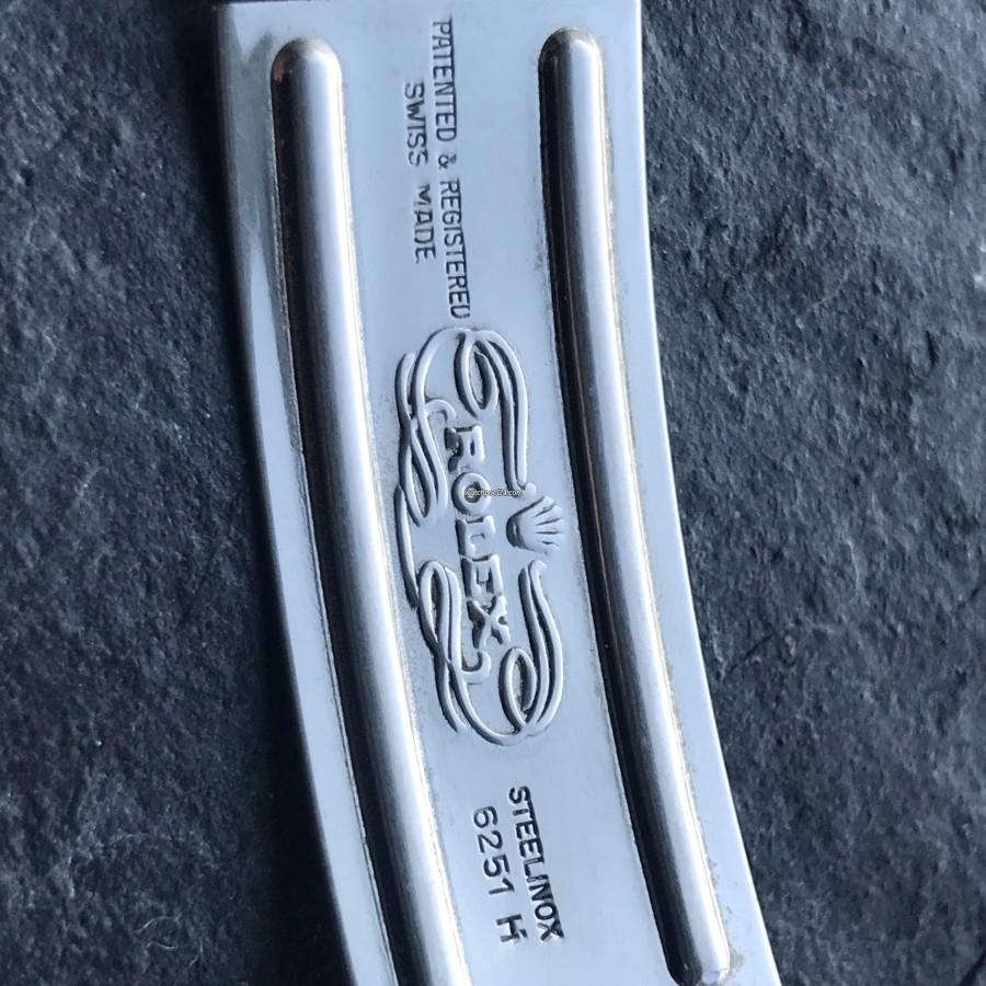 Rolex Datejust 1601 - Wide Boy - originales Jubilee Armband