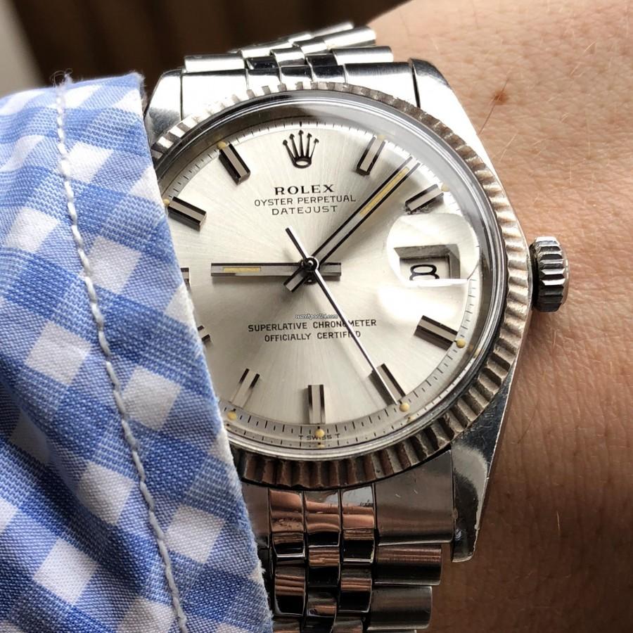 Rolex Datejust 1601 - Wide Boy - eine perfekte Trageuhr