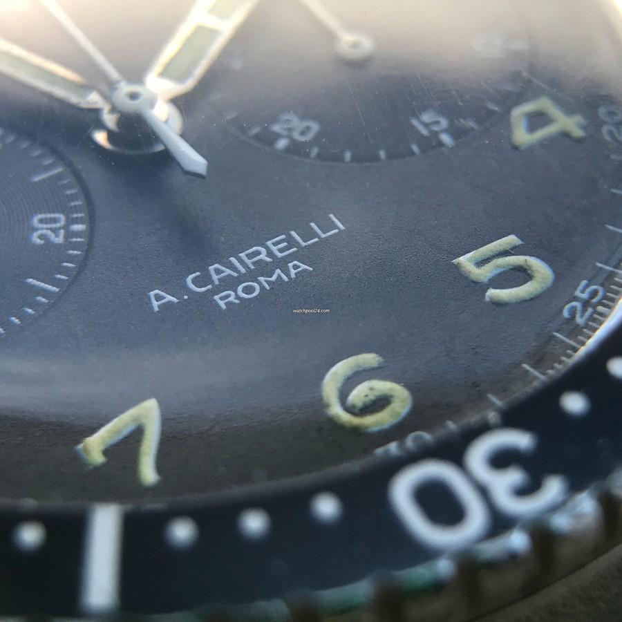 "Zenith Cairelli TIPO CP-2 - Verkäufersignatur ""A. CAIRELLI ROMA"""