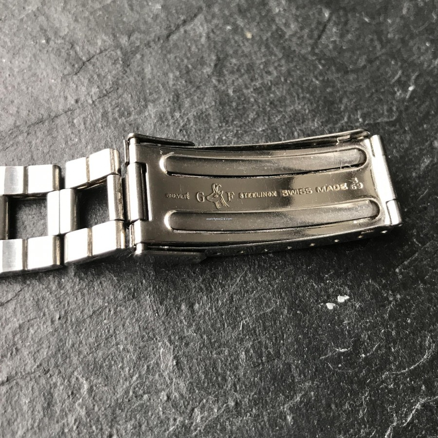 Movado Super Sub Sea 206-705-504 - Gay Freres bracelet made in 1969