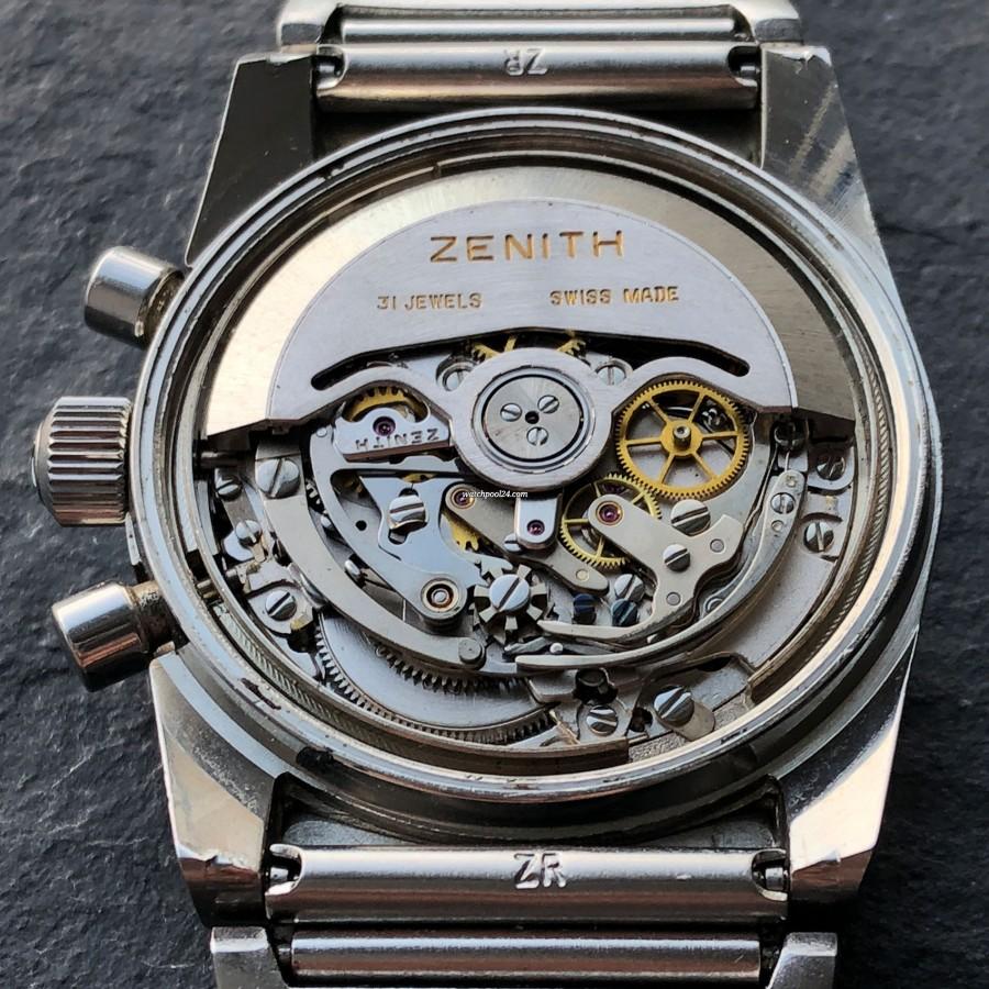 Zenith El Primero A782 - nice and clean movement 3019 PHC