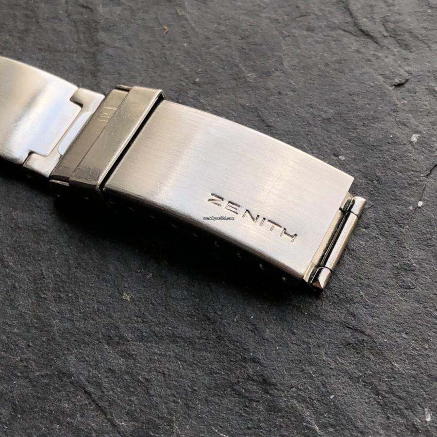 Zenith El Primero A782 - original Zenith bracelet and clasp