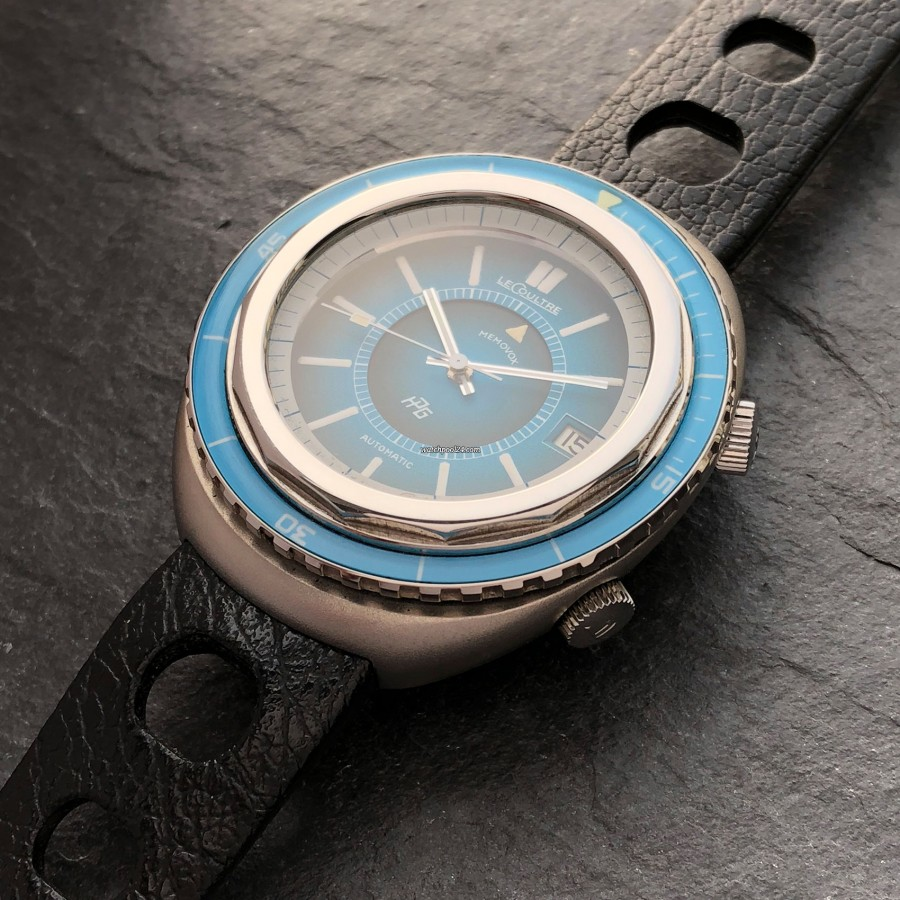 LeCoultre Memovox E 870 Polaris II - 43mm stainless steel case - absolute eye-catching