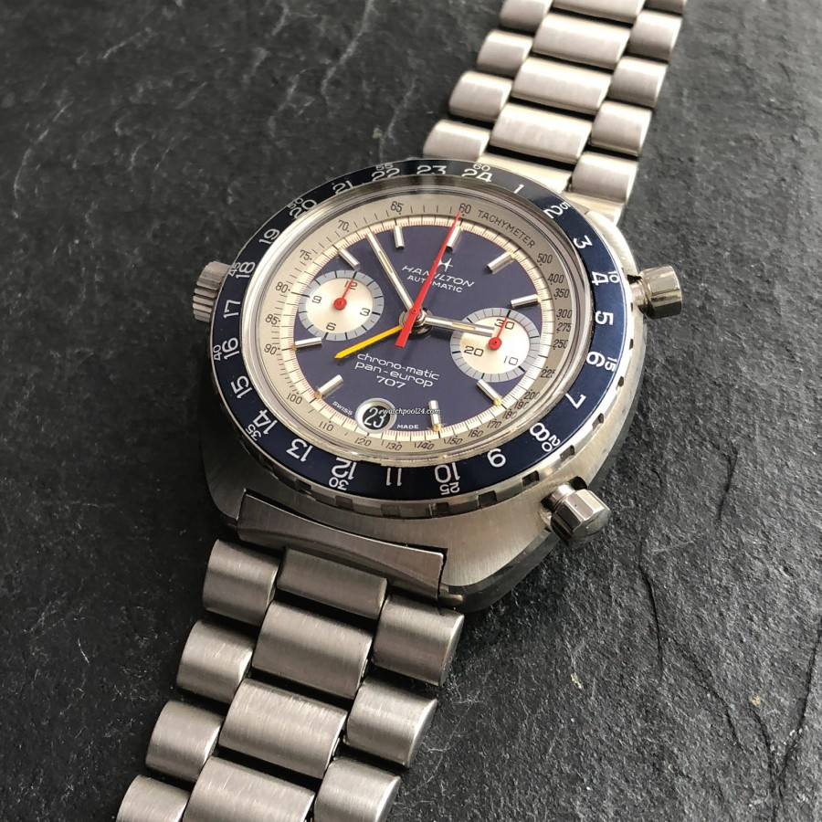 Hamilton Pan-Europ 707 111003-3 - a rare chronograph from the golden era