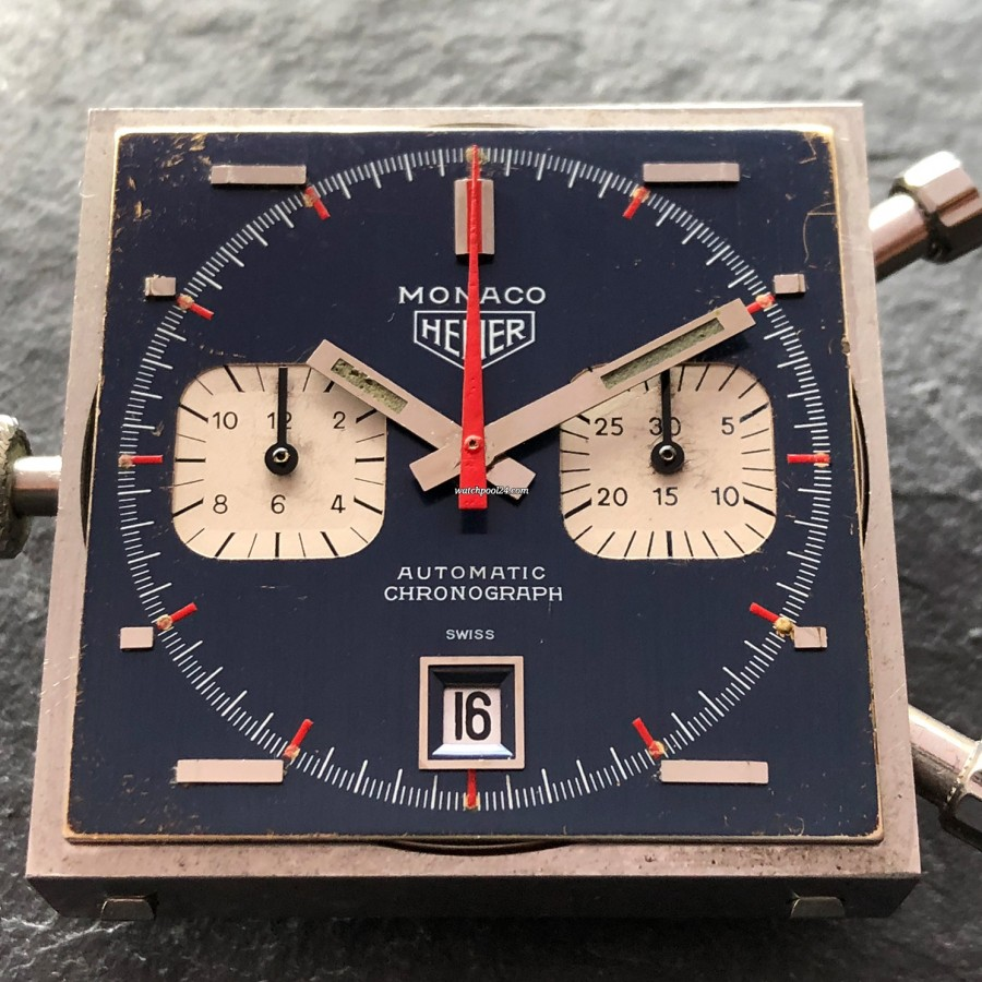 Heuer Monaco 1133B Transitional