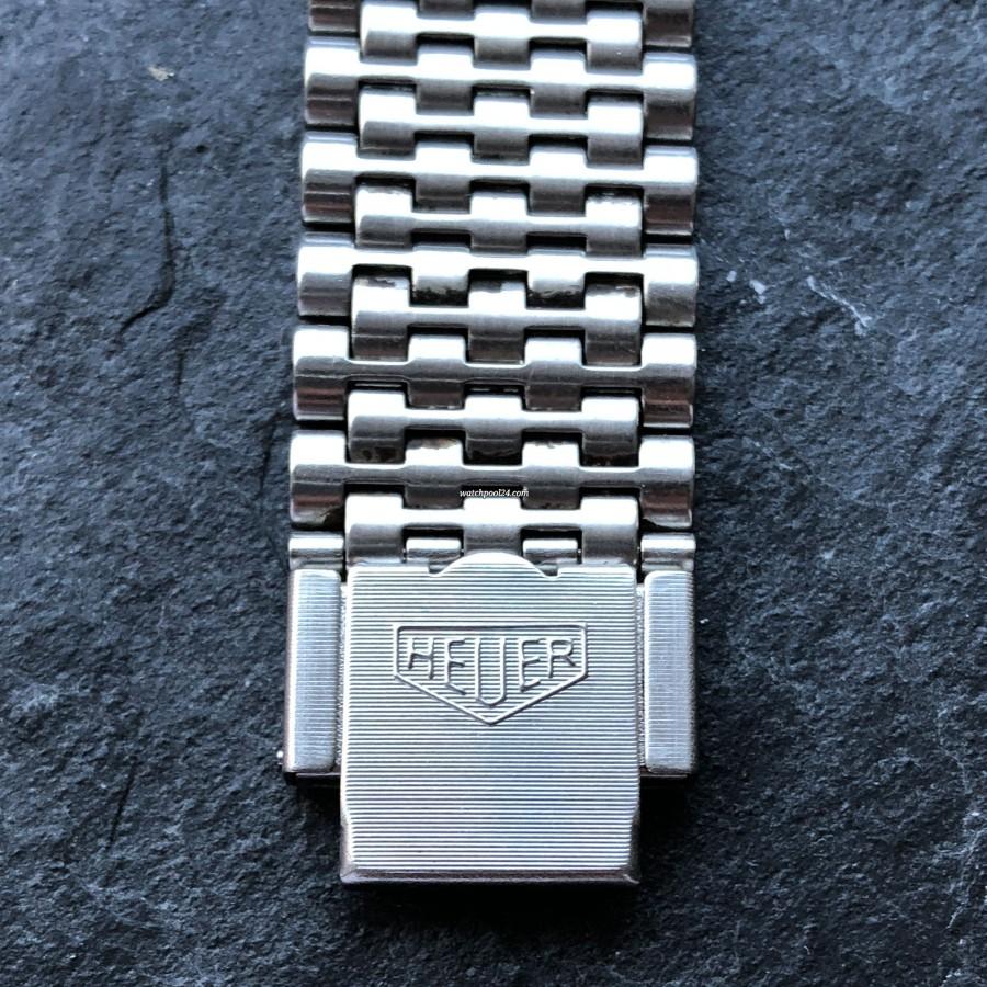Heuer Monaco 1133B Transitional - rare original MK1 Heuer bracelet