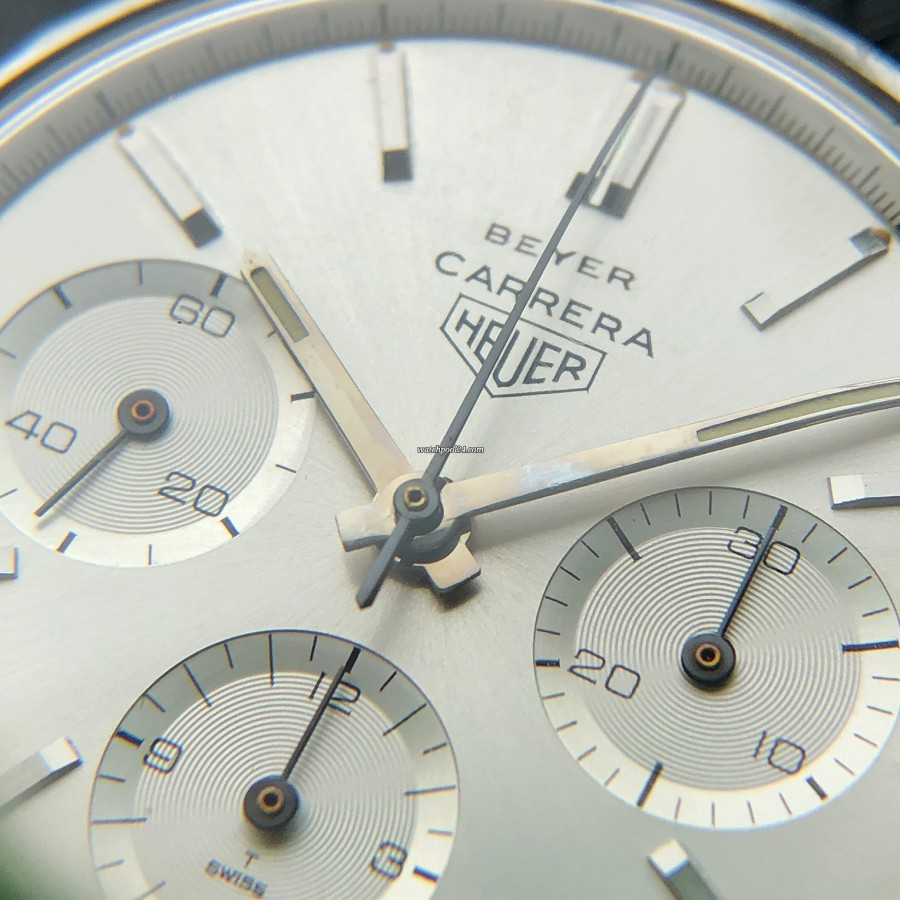 Heuer Carrera 2447 S - Beyer - wundervoller Anblick