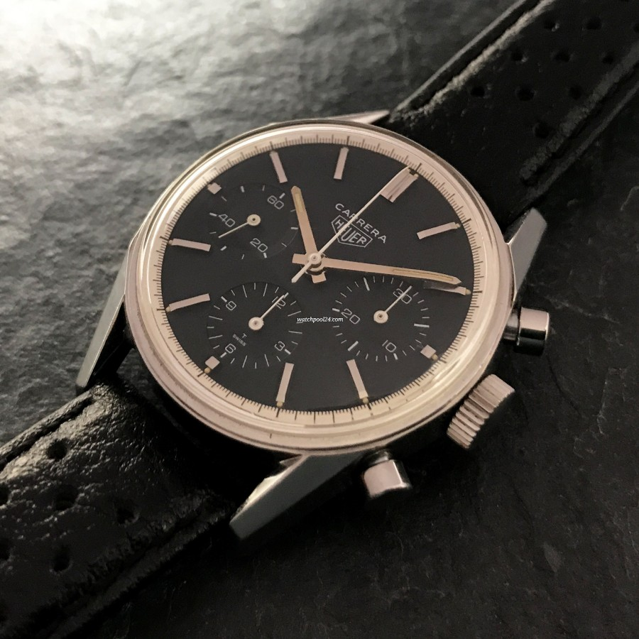 Heuer Carrera 2447 N - attractive racing chronograph