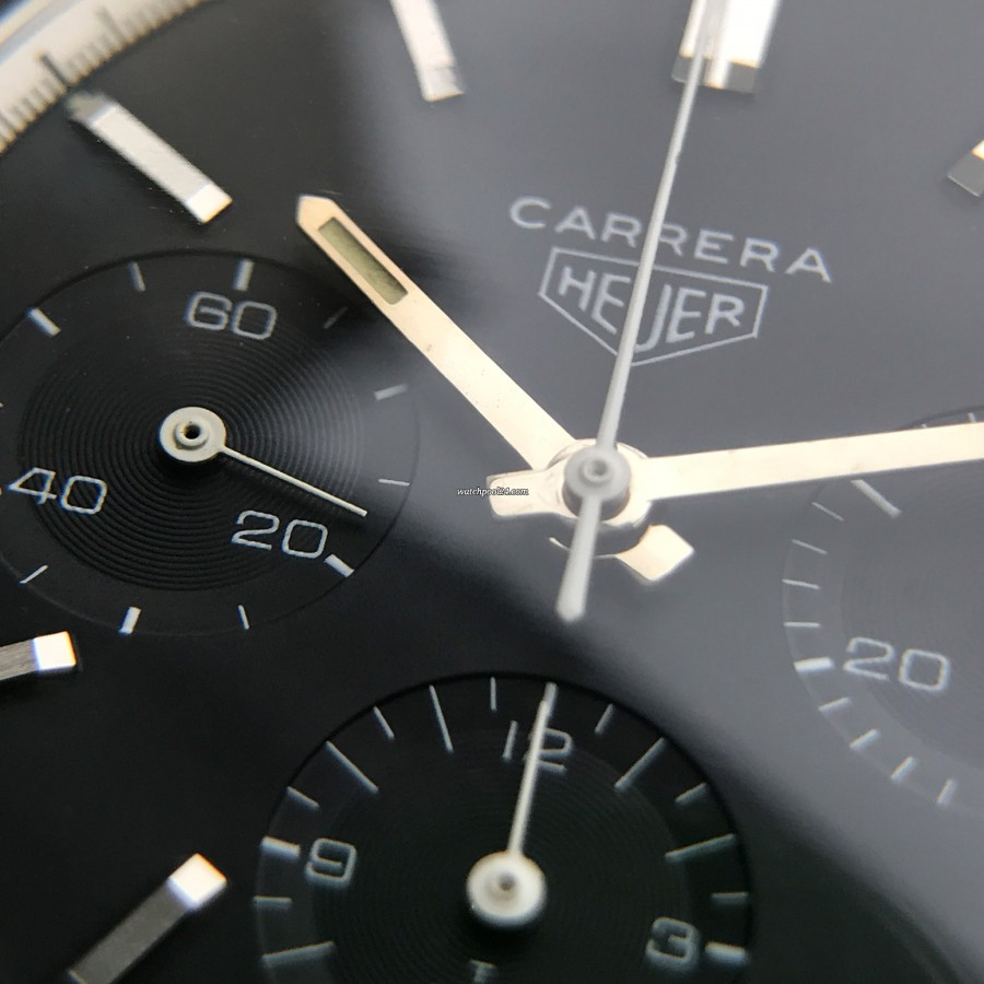 Heuer Carrera 2447 N - black Carrera is a real beauty