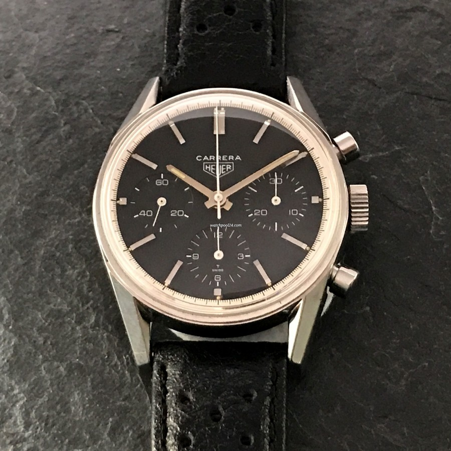 Heuer Carrera 2447 N - nice and mint dial