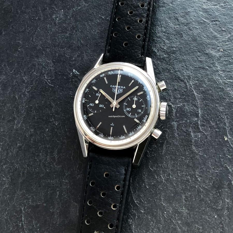 Heuer Carrera 3647 NT - sporty elegant racing chronograph