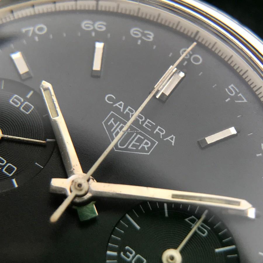 Heuer Carrera 3647 NT - ready for timekeeping