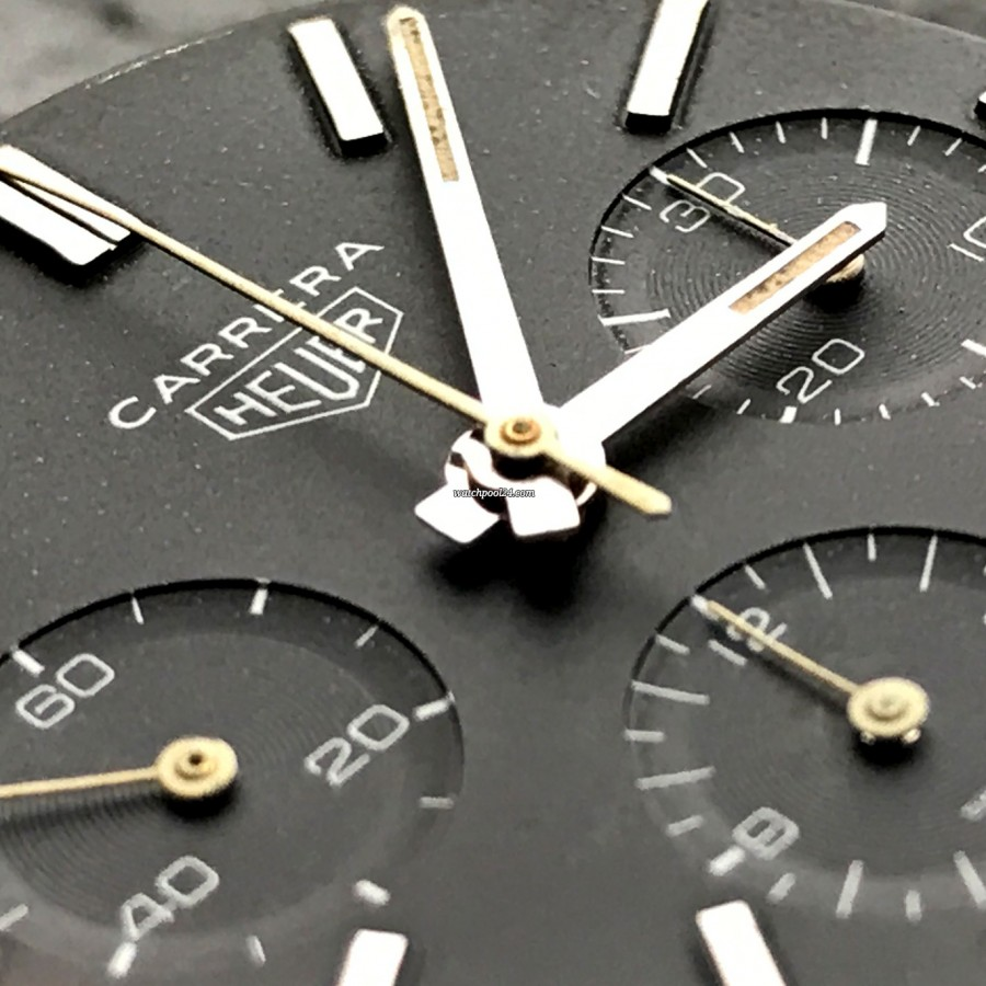 Heuer Carrera 2447 N - Early - ultra rare historical important piece of art