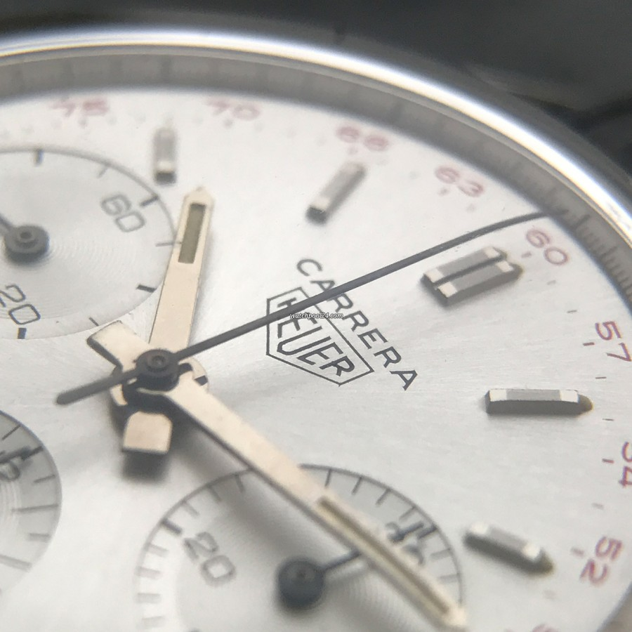 Heuer Carrera 2447 ST - NOS - the right tool for a classic car driver